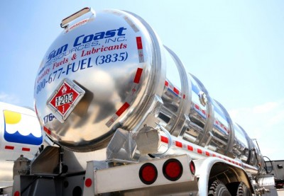 Sun Coast Resources industrial fueling truck.