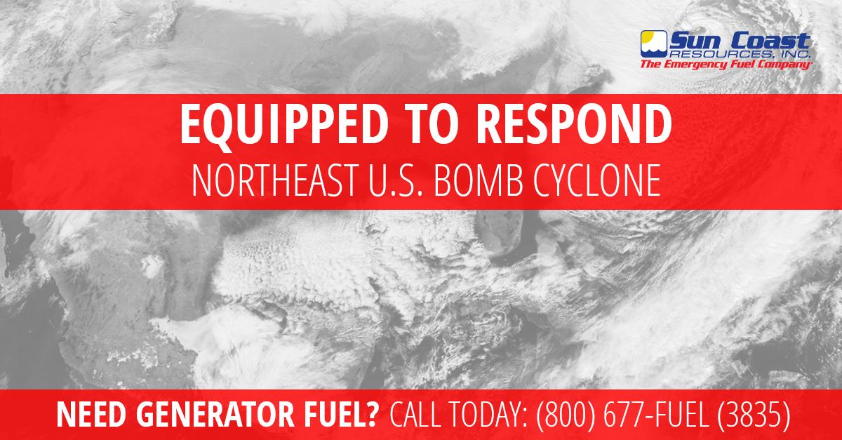 Northeast 'bomb cyclone'